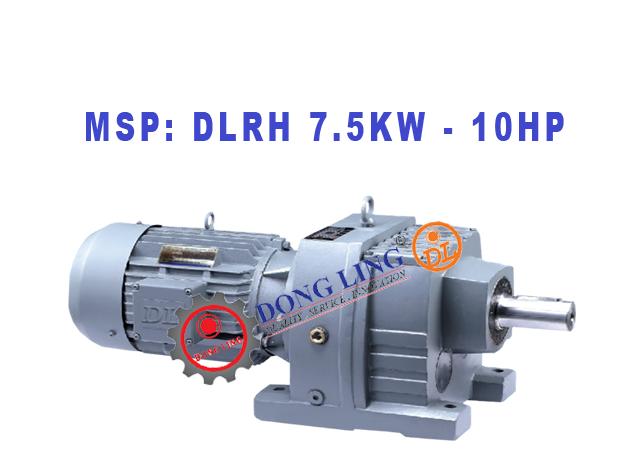 Motor giảm tốc tải nặng DLRH 10HP/7.5KW