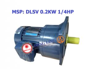 motor giảm tốc mặt bích 0.2KW