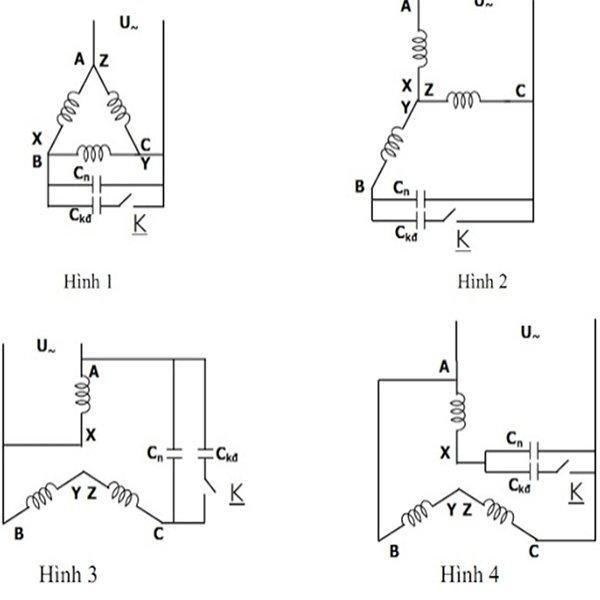 Cách đấu động cơ 3 pha sang 1 pha